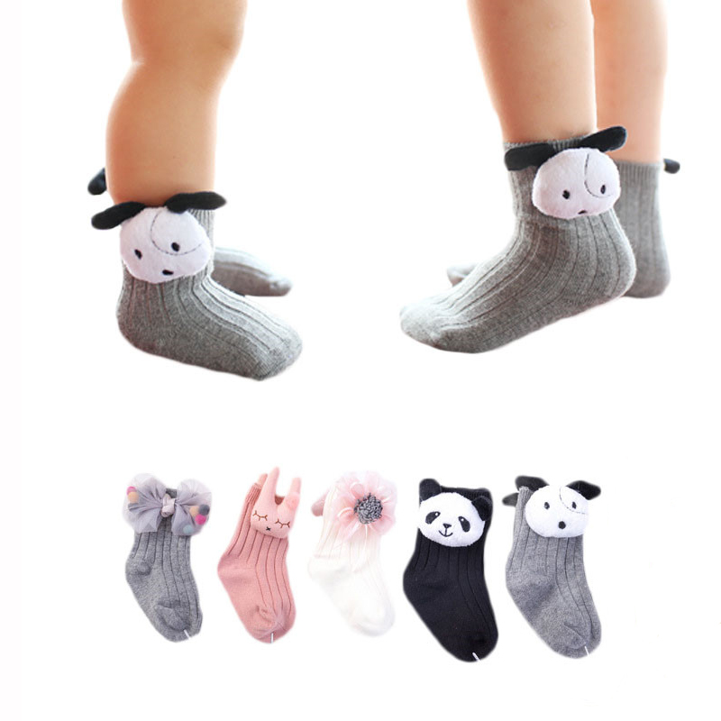 Lawadka Kids Socks Cartoon Cotton Newborn Baby Socks Winter Socks Kids Girls Baby Clothes Accessories