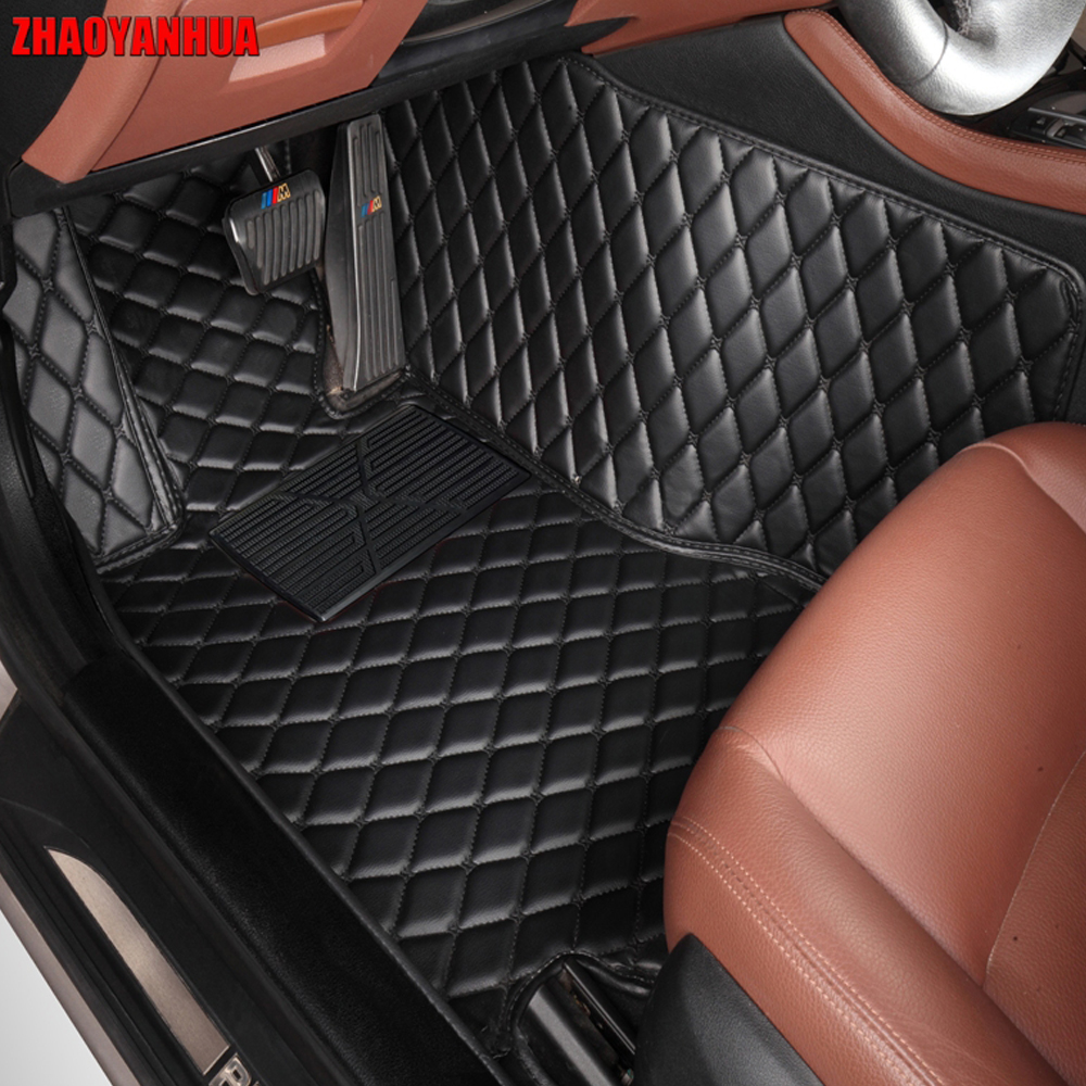 ZHAOYANHUA Car floor mats for Volvo C30 S40 S80L V40 V60 XC60 XC90 5D car-styling heavy duty carpet floor liner customized 3d photo wallpaper 3d floor painting wallpaper 3 d stereo floor tile only beautiful flowers 3d living room decoration