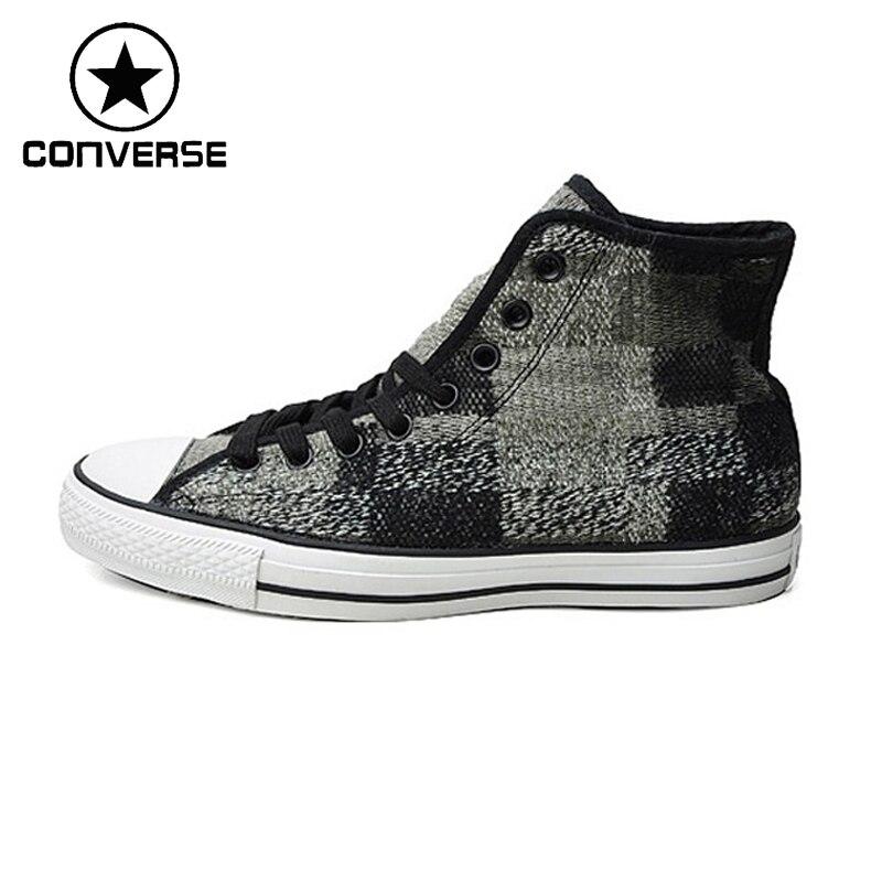 Prix pour D'origine Converse Femmes Planche À Roulettes de Chaussures Haut-dessus Toile Sneakers