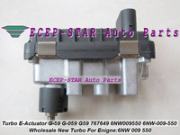 Turbocharger Electric Actuator G 59 G 059 G59 767649 6NW009550 6NW 009 550 6NW 009 550 TURBO Electronic BOOST ACTUATOR