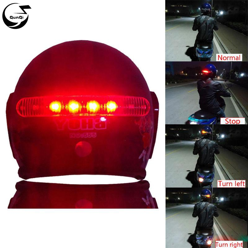 Wireless Waterproof 8 Led Motorcycle Helmet Turn Signal