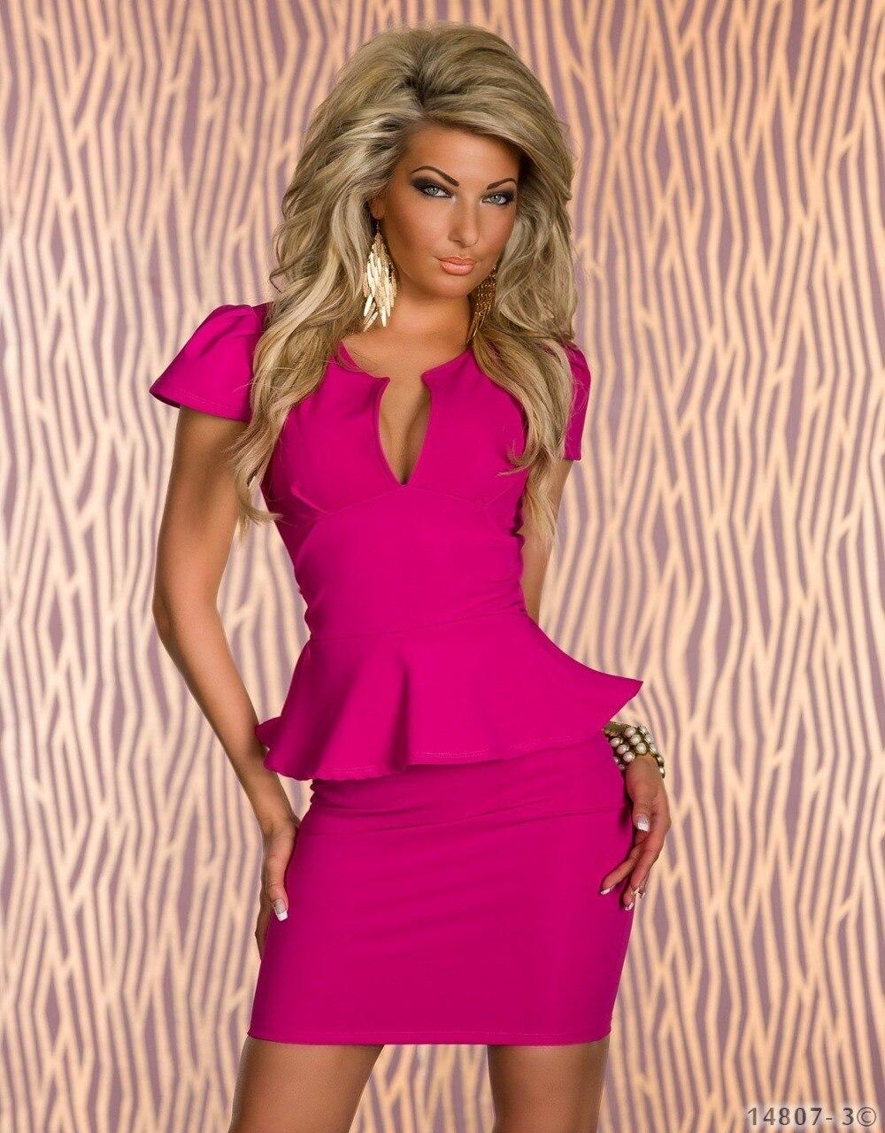 Envío de la gota nuevo diseño moda mujeres sexy Club Vestidos ...