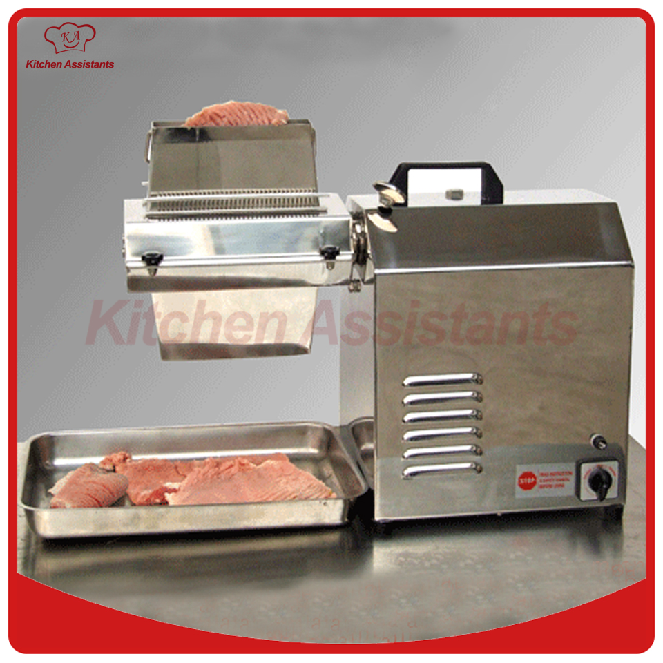 ETS737 commercial electric meat tenderizer machine ts515a desktop manual meat tenderizer machine with removable head for electric use