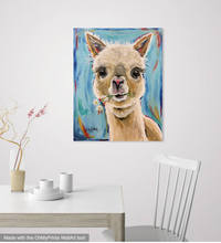 Diamond Painting,Alpaca animals pet,DIY,Diamond Embroidery,5D,Full Square Mosaic Needleworks Christmas Gift Z899