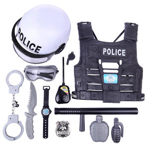 Pretend-Play-Toys Playing-Set Simulation-Policeman Kids Children New for Boys 11pcs Popular