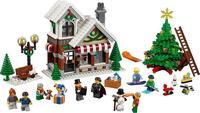 WAZ 호환 Legoe 창조주 10249 렐레 39015 945 개 겨울 장난감