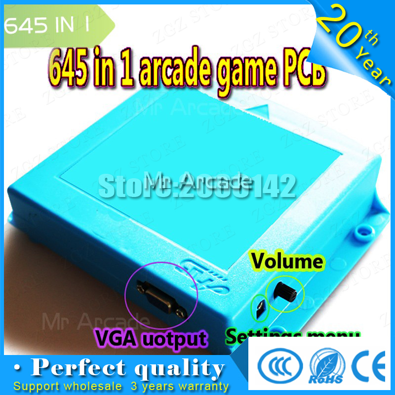 pandora 4 VGA / CGA output for LCD / CRT 645 in 1 game board pandora arcadejamma Cheap pandora bundle video-arcade jamma board free shipping pandora box 4 vga cga output for lcdcrt 645in1 game board arcade bundle video arcade jamma accesorios kit arcade