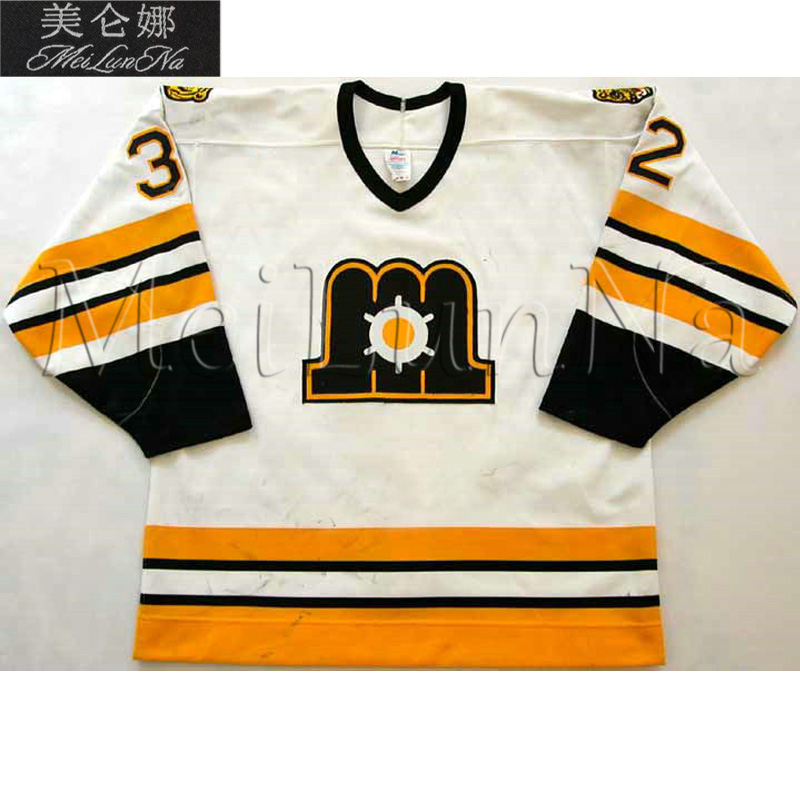 MeiLunNa Custom ECHL Maine Mariners Hockey Jerseys Brian Burke Ken Daneyko Ken Linseman Home Road Sewn On Any Name NO. Size auto car electric voltage probe tester dc 6 24v 100cm cable size l