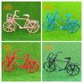 Бесплатная Доставка 1/12 Dollhouse Миниатюрные Мебель Металлическая Велосипед старый стиль