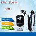 Lo nuevo fineblue f960 wireless stereo headset bluetooth llamadas recuerdan desgaste vibración clip conductor auriculares del auricular para el teléfono