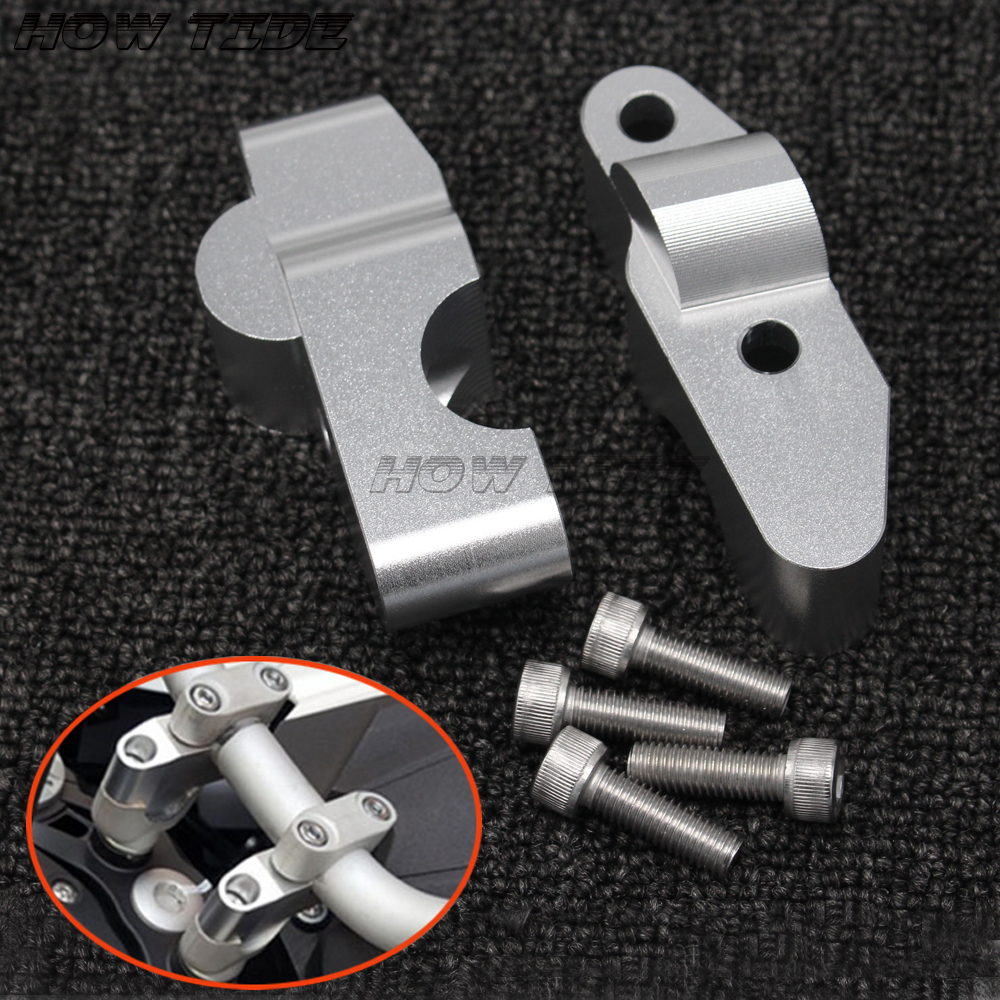 For Benelli <font><b>BJ600</b></font> <font><b>BN600</b></font> TNT600 BN600i Motorcycle Accessories CNC handlebar risers Bar clamp extend adapter with bolts image