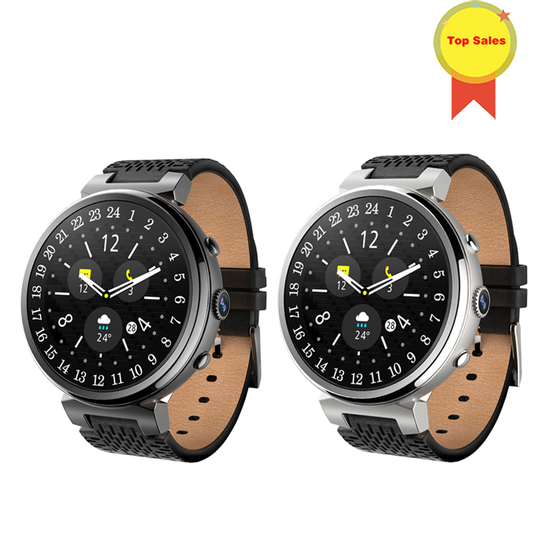 new Smart Watch Android 5.1 MTK6580 Quad Core 1.3GHz <font><b>2GB</b></font> <font><b>RAM</b></font> <font><b>16GB</b></font> <font><b>ROM</b></font> 500W CAMERA <font><b>Smartwatch</b></font> Support 3G GPS WIFI FOR Android IOS image