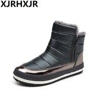 Women Snow Boots Large Size 35 40 Winter Boots Shoes Super Warm Plush Boots Platform 4