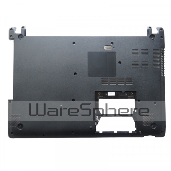 Bottom Base Case Cover For Acer Aspire V5-431 V5-431G V5-471 V5-471G 604TU27002 60.4TU27.001 Laptop D Shell Black gzeele new laptop bottom base case cover for hp for elitebook 8560w 8570w base chassis d case shell lower case 652649 001 black