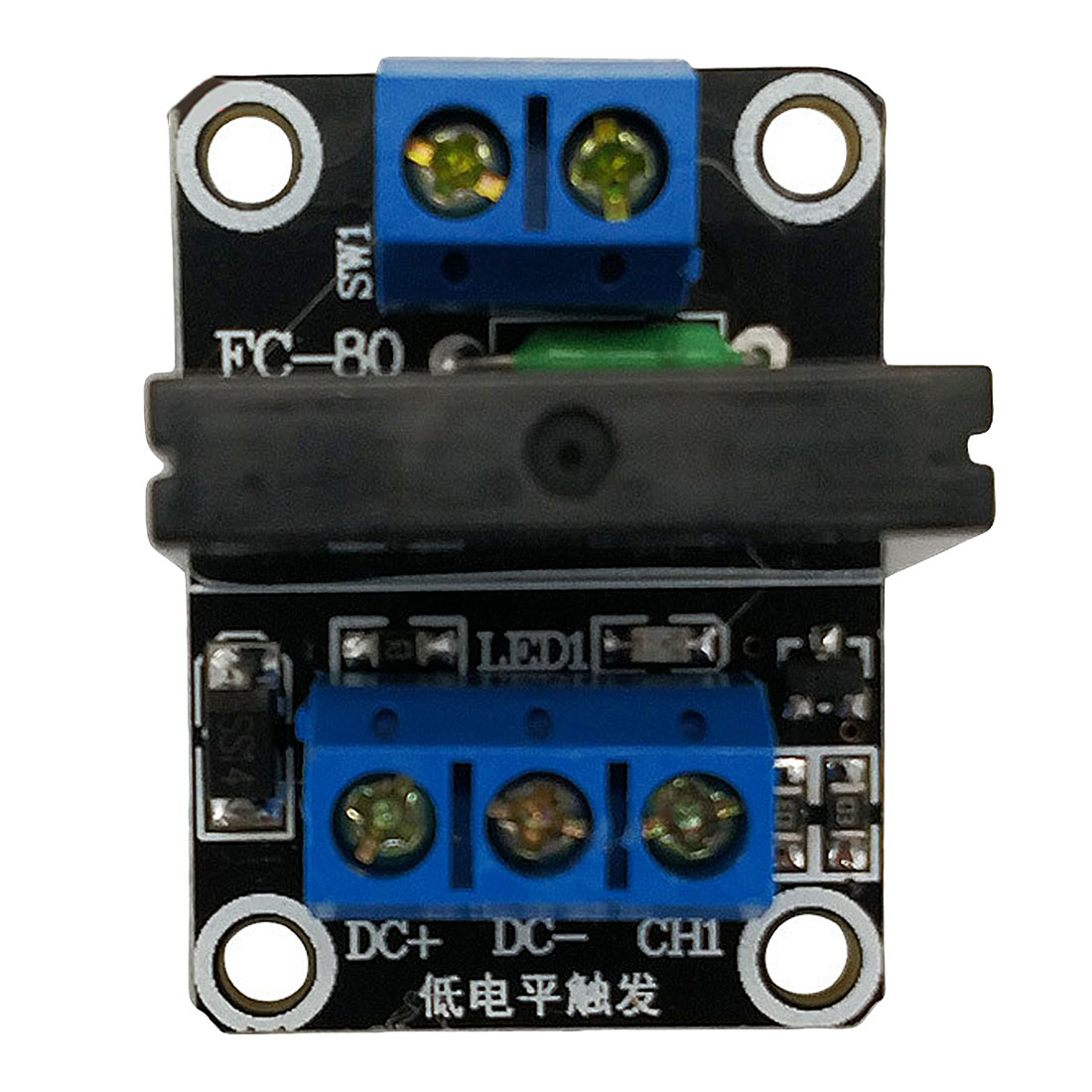 Smart Electronics 1 Channel <font><b>5</b></font>/12/24V DC Relay Module Solid State High/Low Level G3MB-202P Relay SSR AVR DSP for arduino <font><b>Diy</b></font> <font><b>Kit</b></font> image