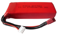 1pcs or 2pcs battery 11.1V 2700mah Lipo Battery For FT012 Brushless RC Boat spare parts battery Accessories