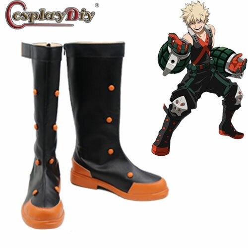 My Hero Academia Boku No Hero Academia Bakugou Katsuki Cosplay Boots Shoes