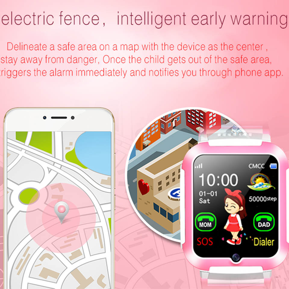 Unterhaltungselektronik Intelligente Elektronik E7 Kinder Smart Watch Agps Lbs Lage Wasserdichte Kinder Baby Smartwatch Touchscreen Baby Sos Armbanduhr Für Ios Android