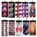 2016 Козыря Прохладный Человека Парни дизайн печатной 3D odd future стиль скейт носки Статуя свободы носки