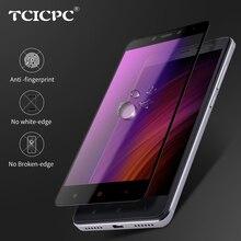 TCICPC For Xiaomi Redmi Note 4X Protective Glass For Xiaomi Redmi Note 4 Tempered Glass 2.5D 9H Full Screen Protector Film