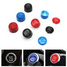 Двигатель автомобиля Start Stop кнопка включения Замените крышку для BMW 1 3 5 7 F10 F25 F15 F25 F30 F48 e60 E70 E71 E90 E92 E93 X1 X3 X4 X5 X6