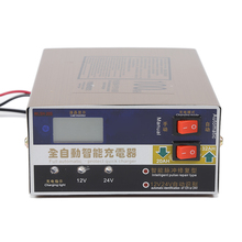 12 V/24 V 100AH EE. UU. Plug Cargador de Batería Scooter de Coche Eléctrico Inteligente de Plomo Ácido de La Batería En Seco y mojado cargador de Pulso Tipo de Reparación