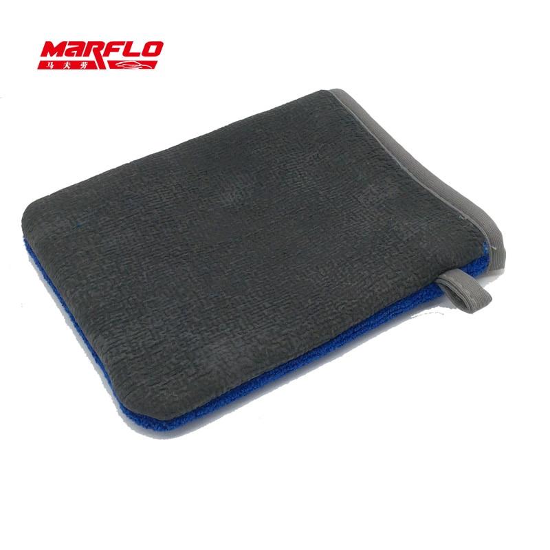 3PCS Magic Blue Clay Bar Mitt Towel Car Care Detailing Cleaning Cloths 30*30cm