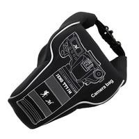 Waterproof Camera Lens Video Bag Storage Case PU Cloth For Canon Nikon Sony Fujifilm DSLR Camera