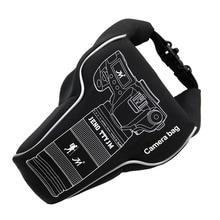 2018 новая водостойкая Quakeproof камера объектив видео сумка для хранения Чехол PU/ткань для Canon Nikon sony Pentax Fujifilm DSLR камера