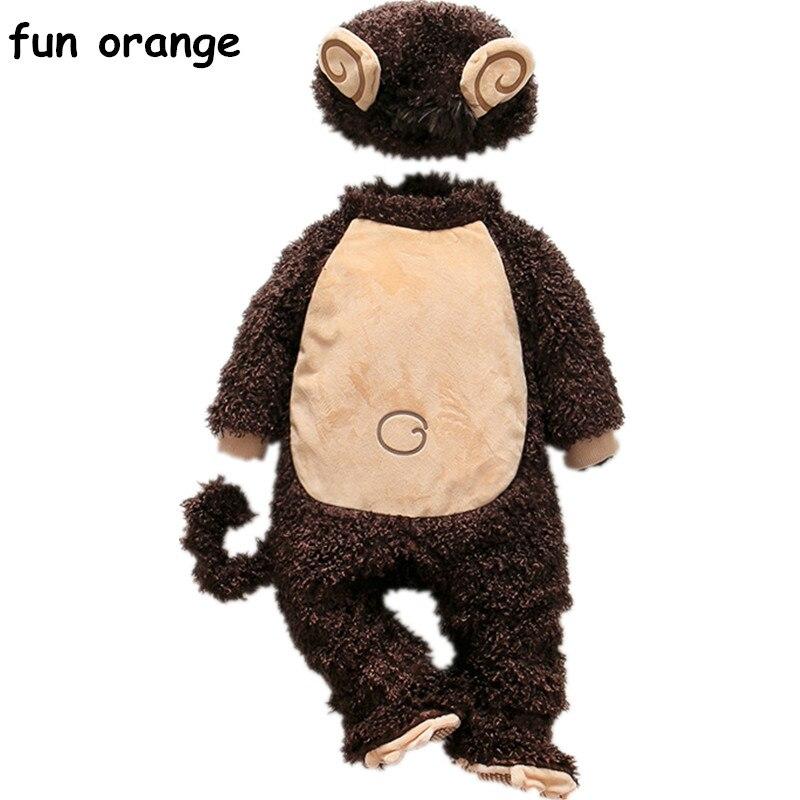 Fun Orange Winter Products Infant Newborn Clothes Baby Siamese For Baby Clothing fun fun брюки fun fun jpt2187 13з джинс