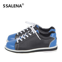 Bowling High Quality Outdoor Shoes Skidproof Sole Professional Light Weight Sport Shoes For Men Breathable Sneakers AA11038