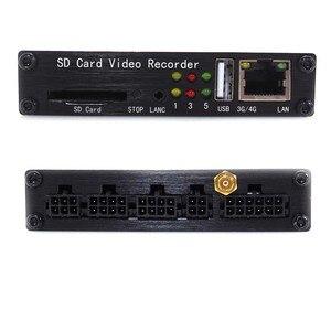 Image 4 - SDVR104 4 canali SD Card video recorder 4CH camion auto Bus Del Veicolo DVR Mobile video di sorveglianza di supporto 1080P AHD macchina Fotografica analogica