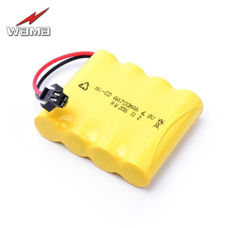WAMA 700 mAh Ni-Cd 4S em Baterias da Série AA recarregável Li-ion Battery pack para o Controle Remoto Do Carro Brinquedos navalha do Navio Da Gota