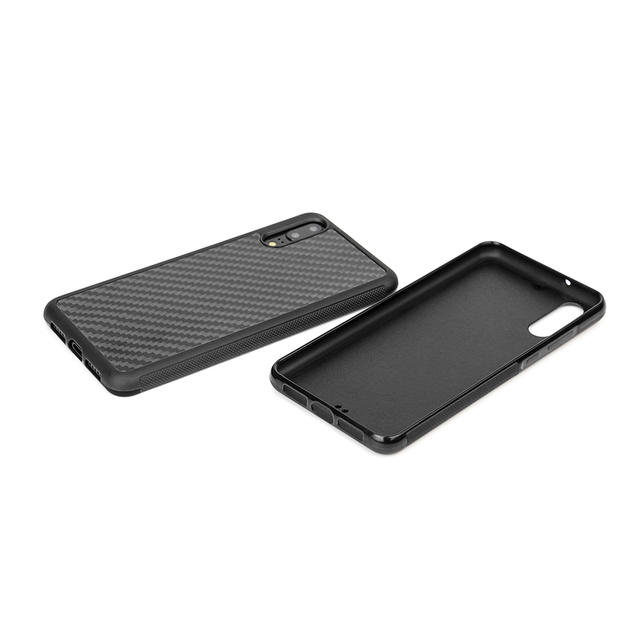 Carbon Fiber Case for Huawei P20 P20Lite P20 Pro  With Slim Armor Shockproof