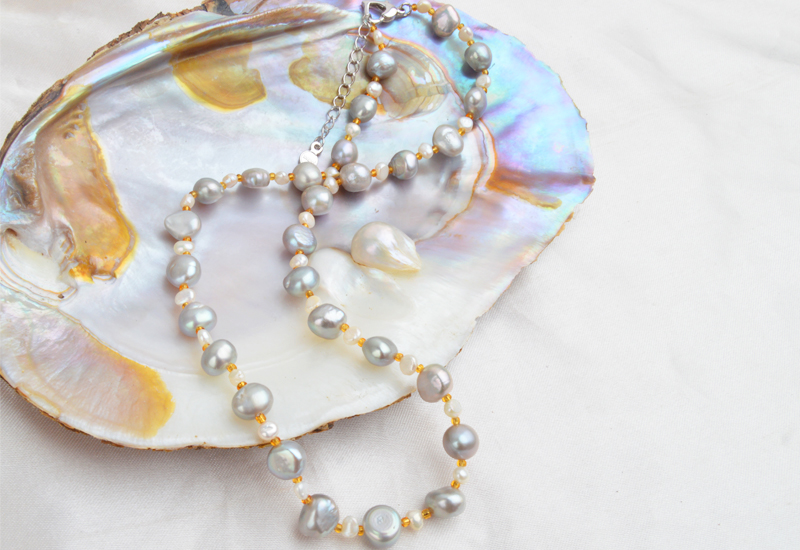HTB1LfTXatfvK1RjSspfq6zzXFXaW ASHIQI Natural Baroque pearl Jewelry Sets Real Freshwater Pearl Necklace Bracelet 925 Sterling Silver Earrings Women New Arrival