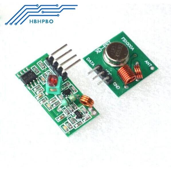1 пара = 2 шт. 315 мГц RF беспроводной модуль приемника и передатчик модуль доска для Arduino Супер регенерации (ASK/OOK) DC 5 В в