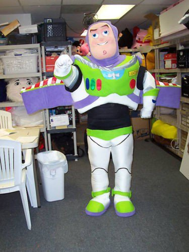Buzz Lightyear mascotte dessin animé déguisement mascotte Costume adulte personnage Cosplay mascotte Costume