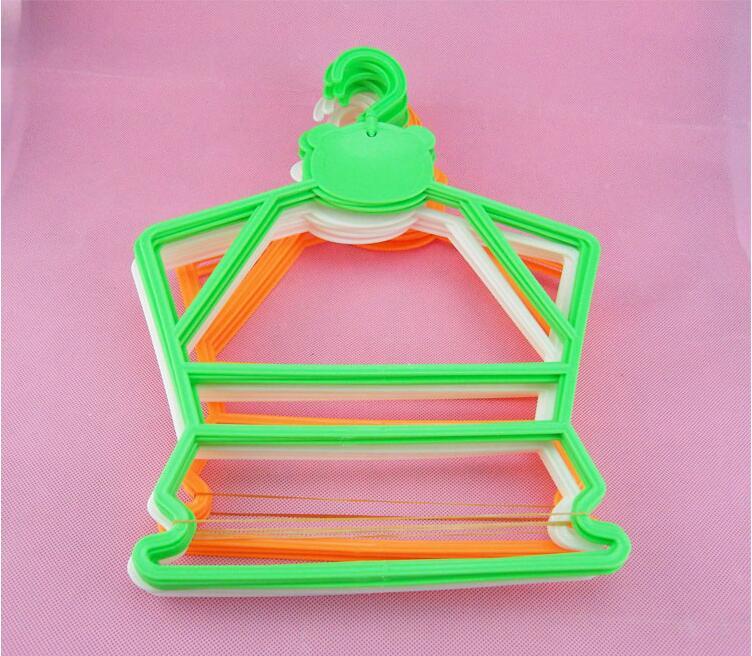 30 unids / lote percha de plástico para niños perchas combinadas - Organización y almacenamiento en la casa - foto 5