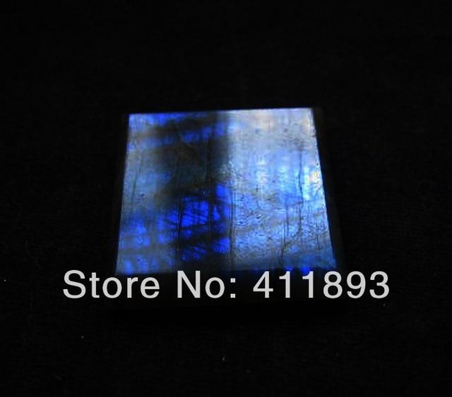 Gemstone Labradorite Cabochon,26x5mm,8.61g