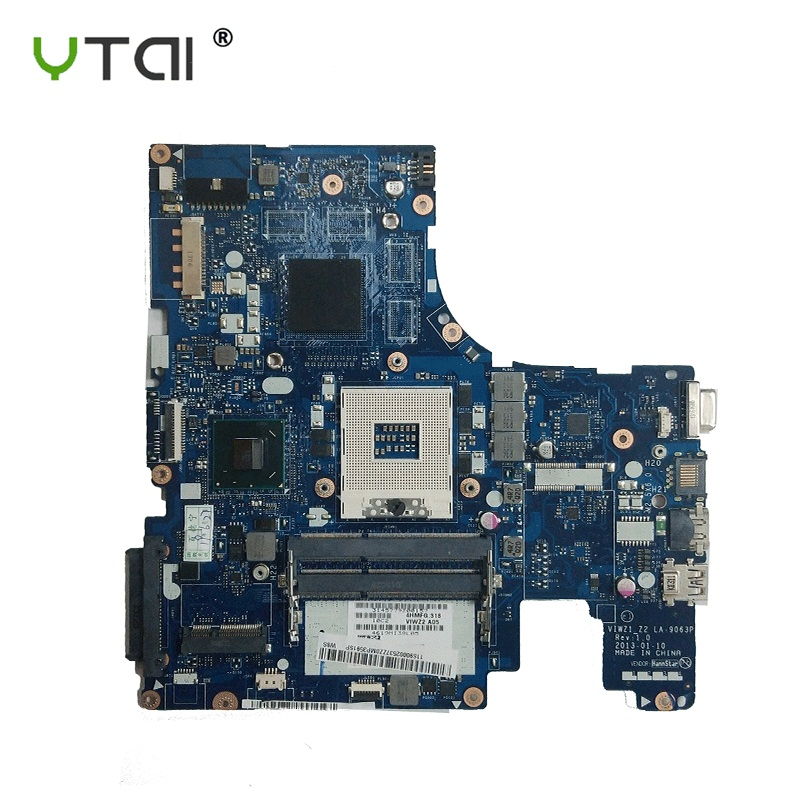 <font><b>Z500</b></font> motherboard LA-9063P HM77 DDR3 Free shipping For <font><b>LENOVO</b></font> <font><b>Z500</b></font> Laptop Motherboard 100% tested intact image