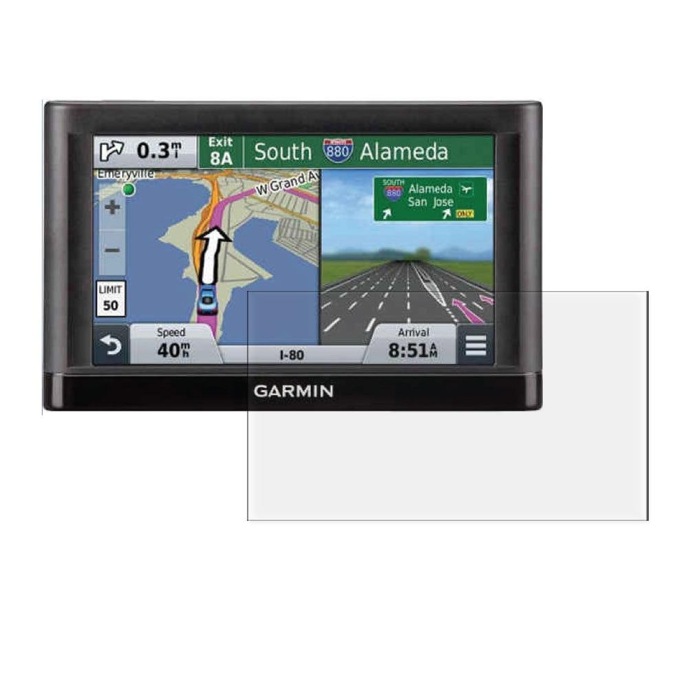 3x Anti-Scratch Clear LCD-skärmskyddsfilm för Garmin Nuvi 67 67LM - Reservdelar och tillbehör för mobiltelefoner