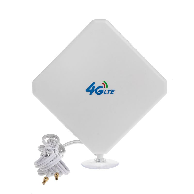 4G LTE Antenna Wifi Signal Booster Amplifier Adapter TS9 Connector Cable 35dBi High Gain Network Reception Mobile Phone Hotspot