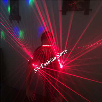 TT04 Red laser armbands 650nm Laser arms band bar party props laser light costumes luminous ballroom dance laser man show wears
