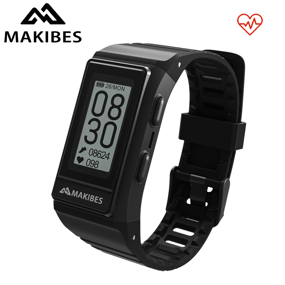 Hot Makibes G03S GPS Multisport Smart Band Heart Rate Smart Wristband  Fitness tracker Always on display Bracelet Call Reminder