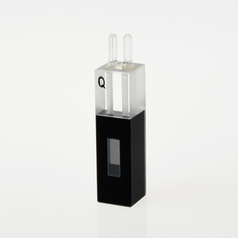 Quartz Flow Cuvette With Glass Tube(480ul) 480ul 10mm Path LengthQuartz Flow Cuvette With Glass Tube(480ul) 480ul 10mm Path Length