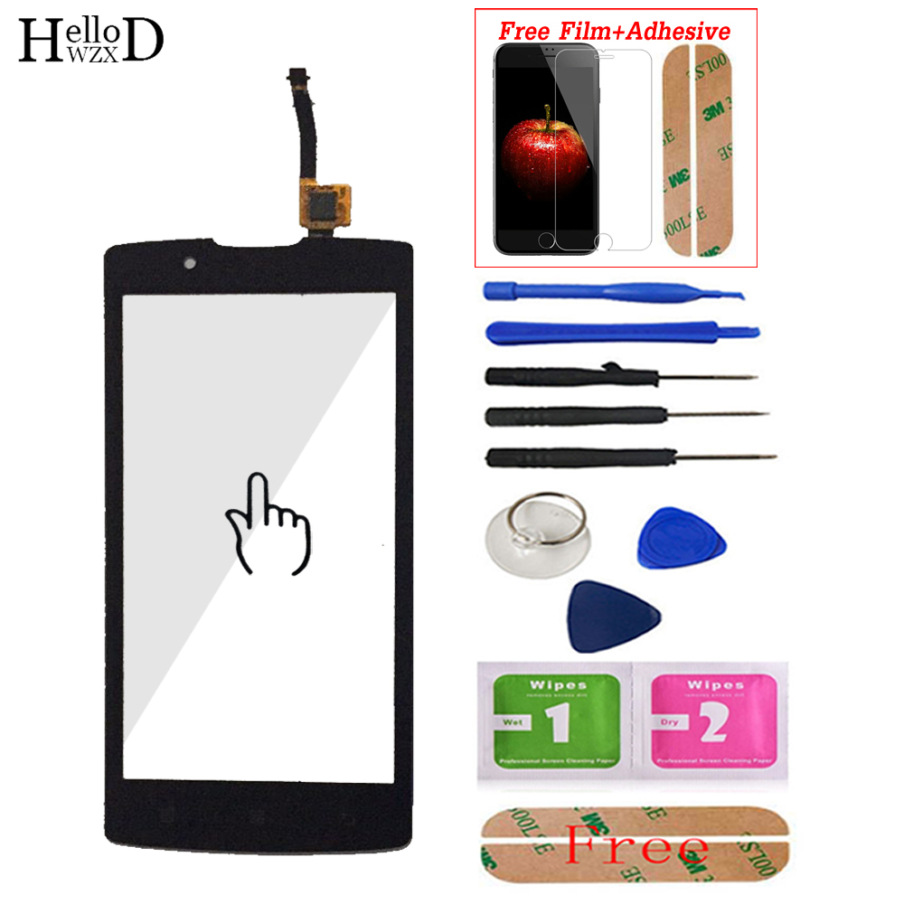 New For Lenovo A2010 A 2010 Touch Screen Glass Digitizer Panel Front Glass Lens Sensor Tools Adhesive + Screen Protector Gift