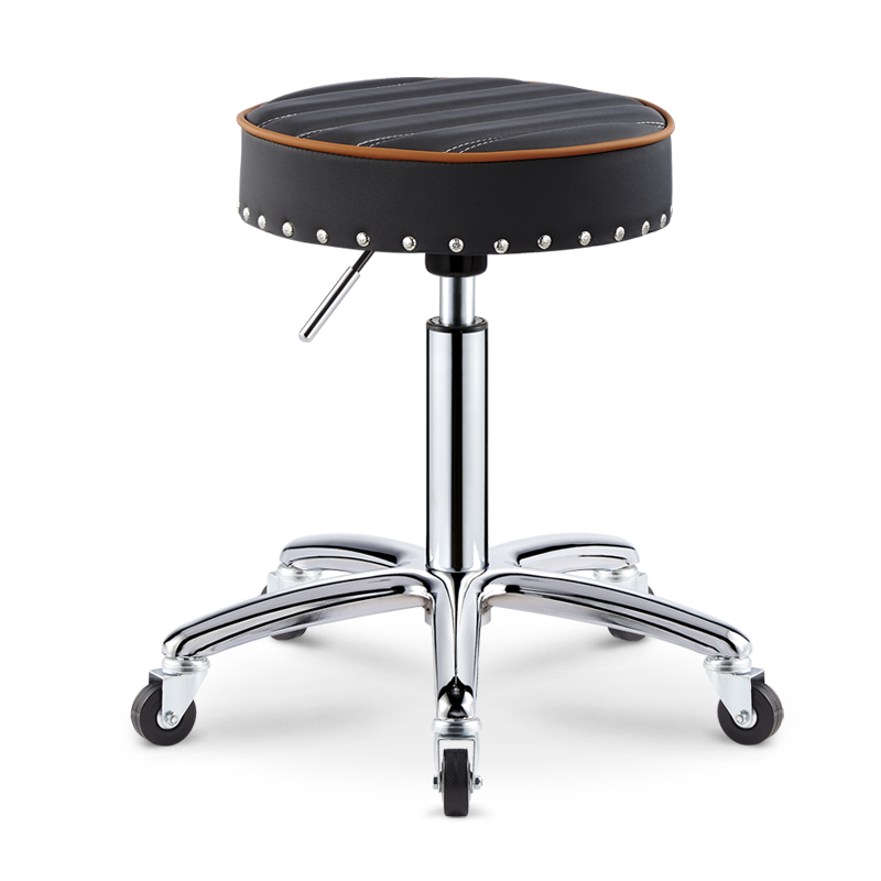 Swivel Beauty Barber Chair Liftable Front Bar Chair  ...