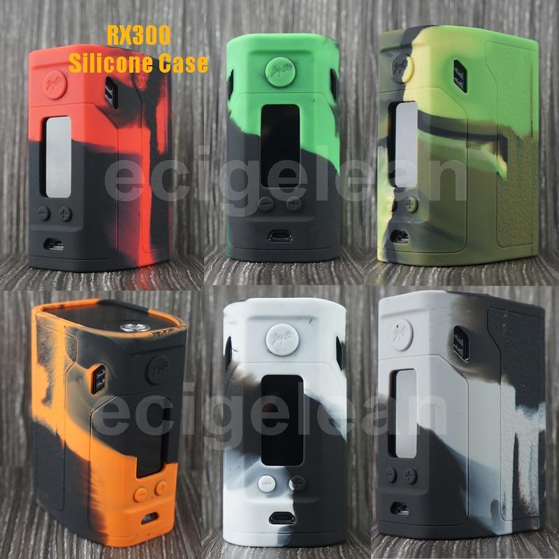 Post 1pc Wismec Reuleaux RX300 silicone case VS sigelei 213 Evolv DX200 Tarot 200 vtc cover