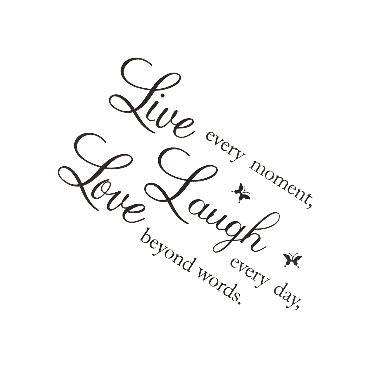 online get cheap color black quotes aliexpress com alibaba group live laugh love
