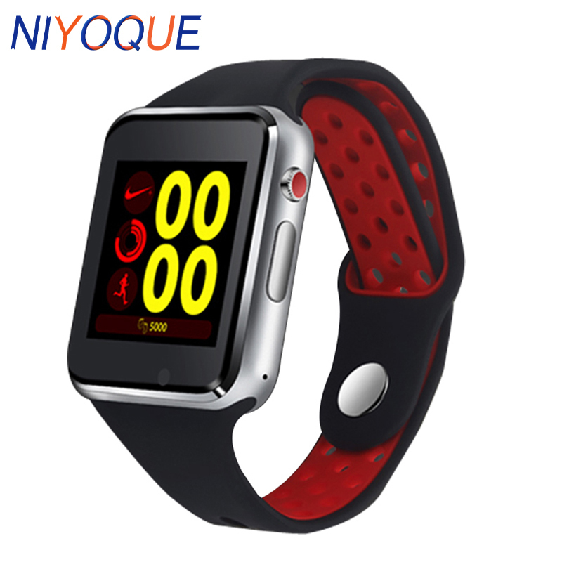 NIYOQUE M3 Smart Watch With Passometer Camera SIM Card Call Bluetooth Smart watch For Huawei Xiaomi HTC Android Phone PK A1 DZ09